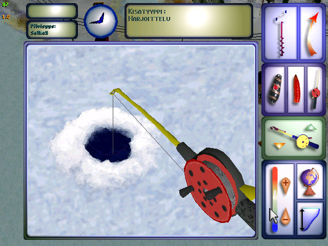 Финская рыбалка игра