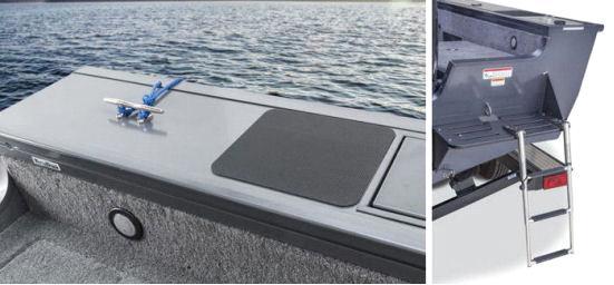 Комплектация катера лесенкой