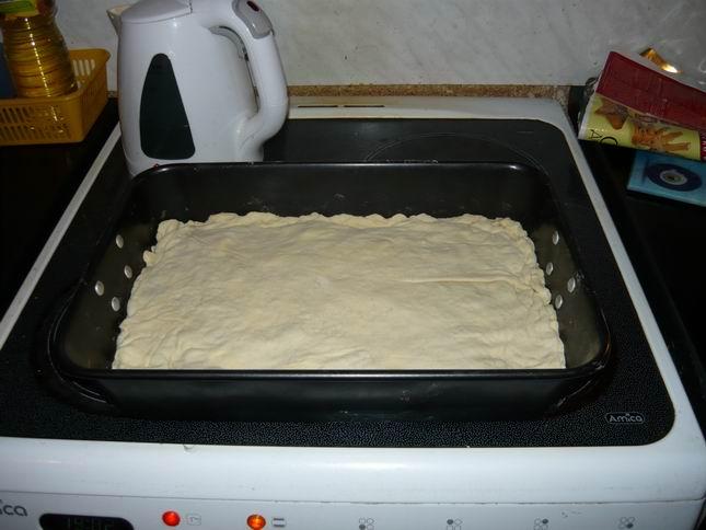 Пирог с налимом