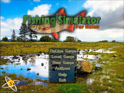 Игра fishing simulator for relaxation