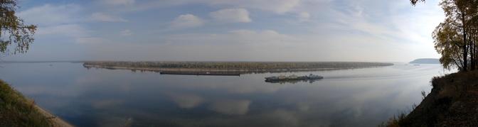 Великая русская река