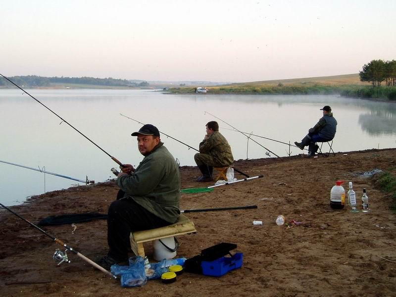 рыбалка в августе в татарстане